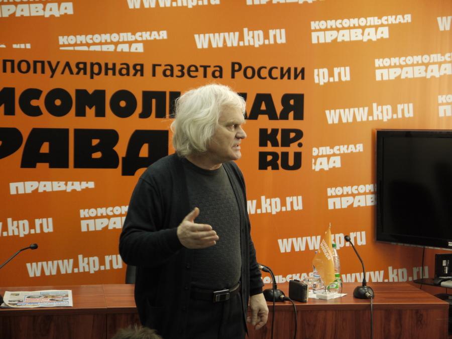 В Перми Юрий Куклачёв пытался дрессировать журналистского кота - фото 13