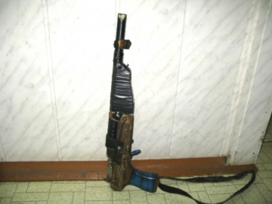 В Косе полицейские изъяли у умельца самодельное оружие