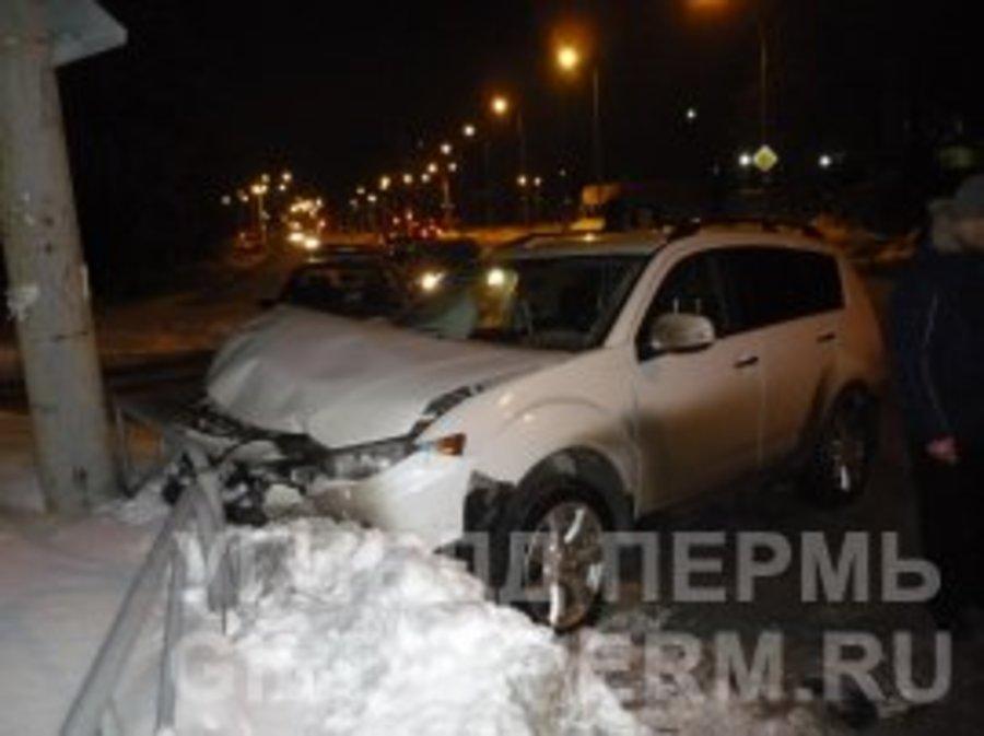 В Перми пьяный водитель Тойоты не предоставил преимущества в движении