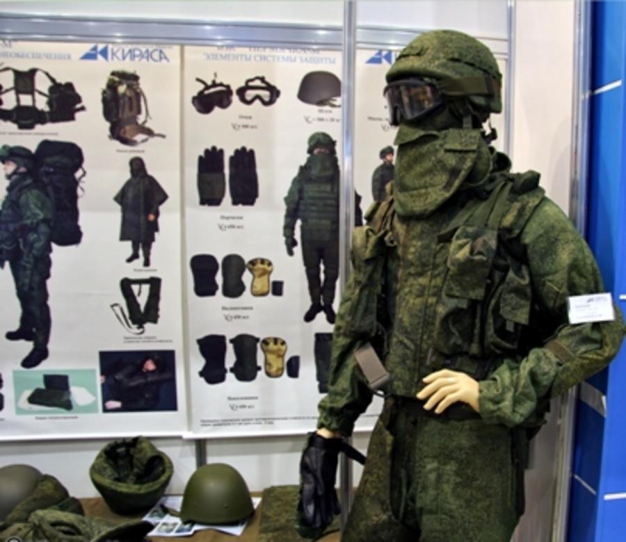 Российские разведчики получили боевые защитные комплекты «Пермячка»