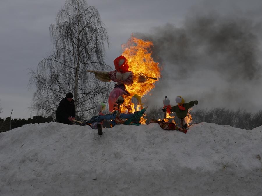 В Перми прошел праздник «Проводы Зимы»