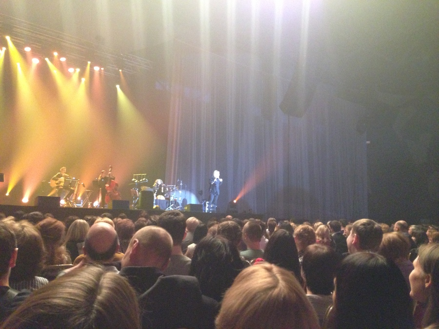 Лара Фабиан дала единственный концерт в Перми