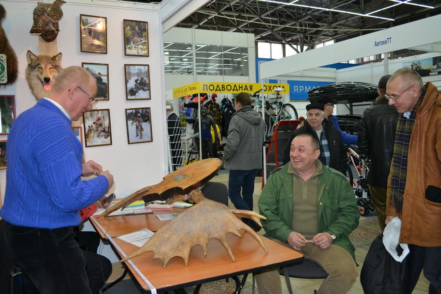 выставка охотников и рыболовов 2016 в спб