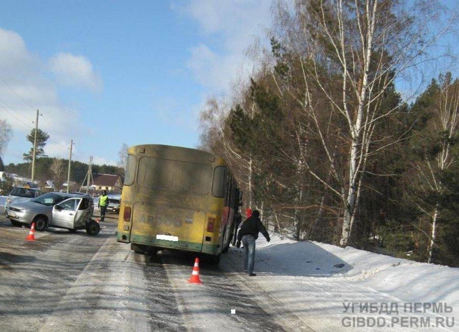 8 марта в Чайковском в ДТП погибла пожилая женщина