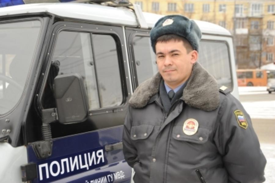 В Перми полицейский нашел автовора по следам на снегу
