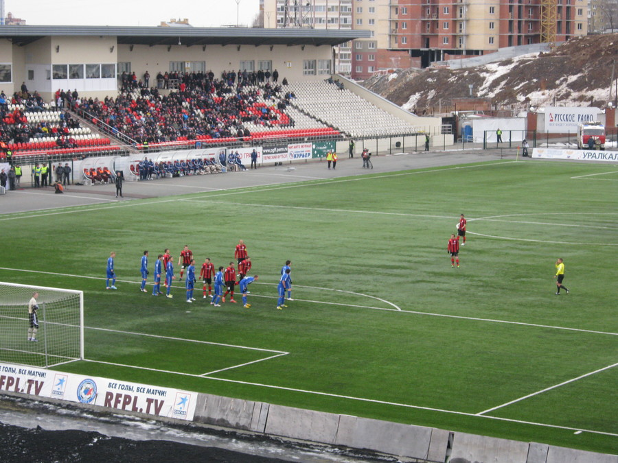 «Амкар» и столичное «Динамо» сыграли вничью