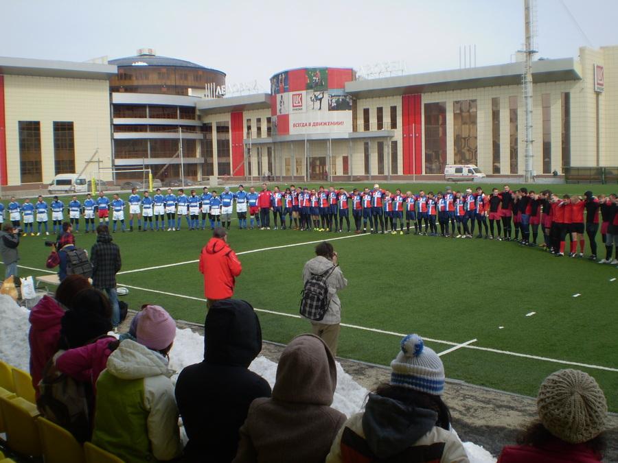 В Перми прошел матч по регби между «Пармой» и «Политехником»