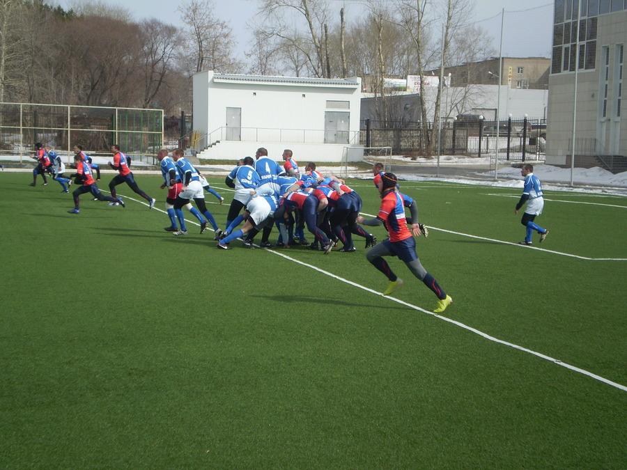 В Перми прошел матч по регби между «Пармой» и «Политехником» - фото 11