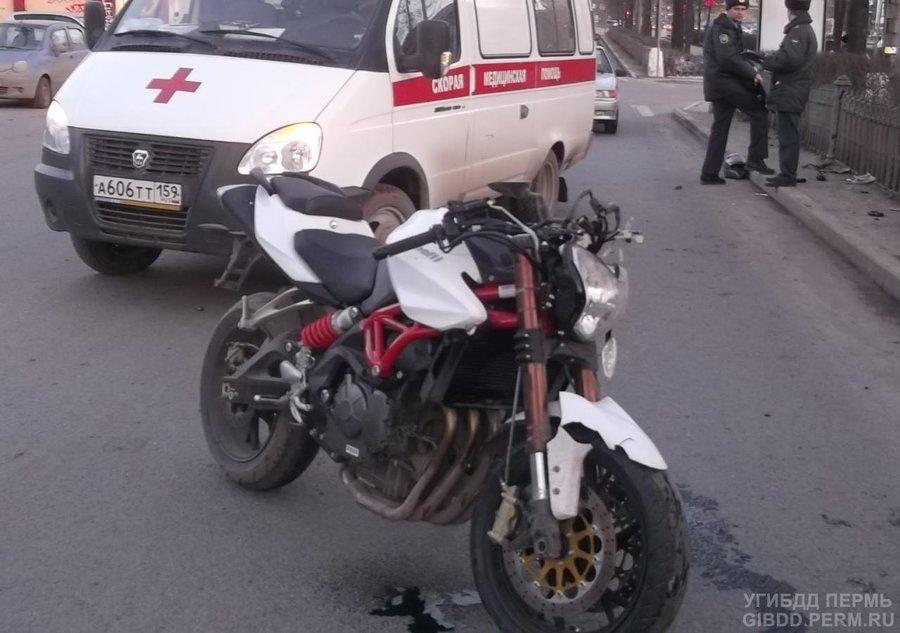 Пермские мотоциклисты открыли аварийный сезон