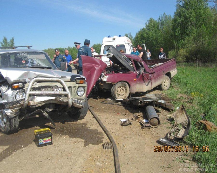 В Чернушиском районе в ДТП один человек погиб, двое травмированы - фото 1