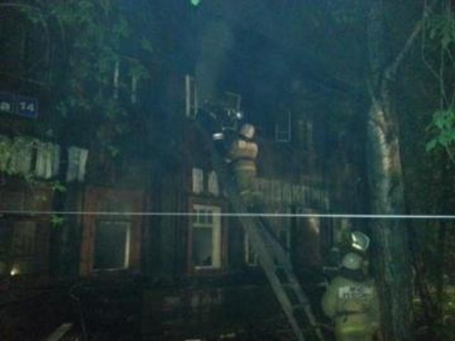 В Перми на крупном пожаре погиб, один и травмированы 4 человека