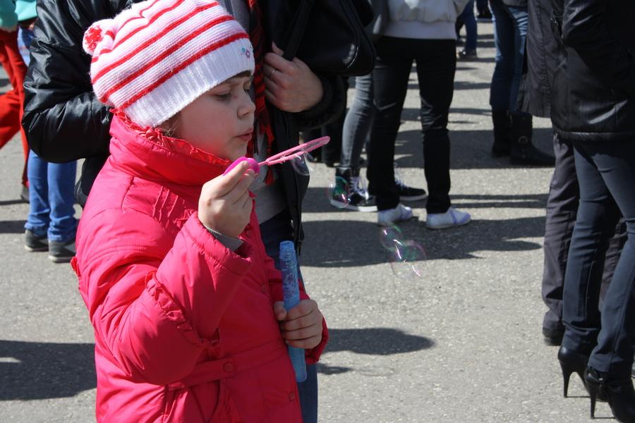 В Перми прошел пристрелочный День мыльных пузырей