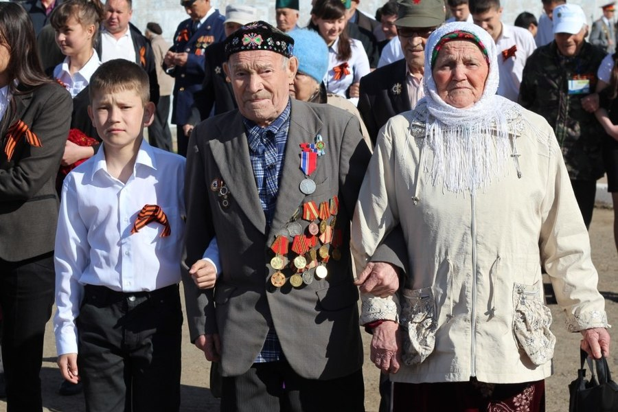 В селе Барда отпраздновали День Победы