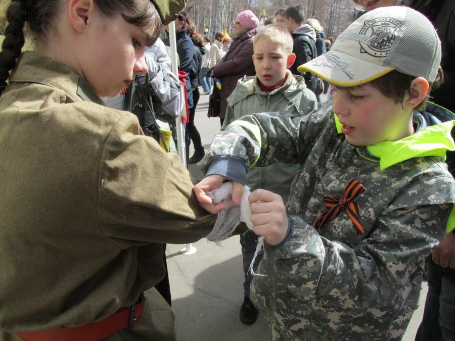 Пермские дети прошли курс молодого бойца