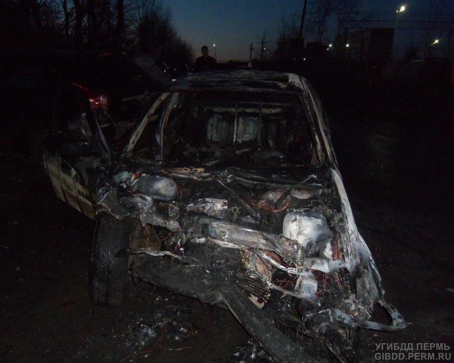 В Верещагино в столкновении БМВ и Ниссана пострадали пять человек