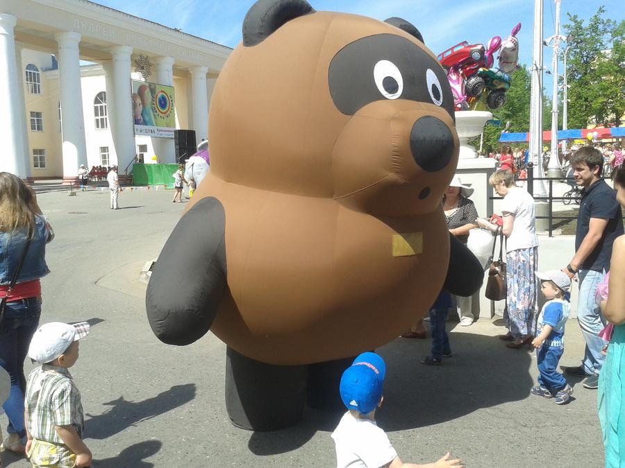 В Краснокамске прошел праздник игрушек