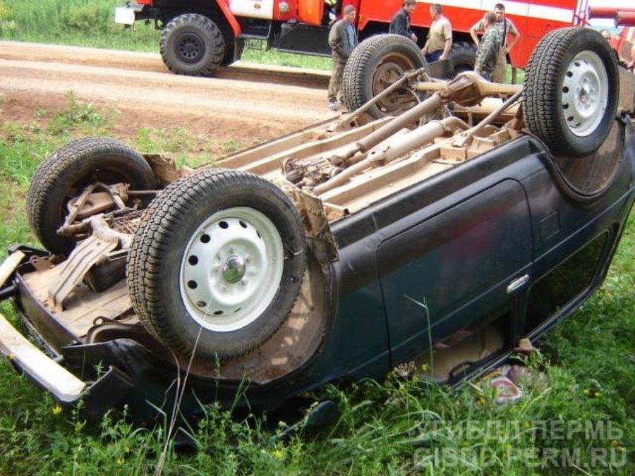 В Сивинском районе погиб водитель Нивы