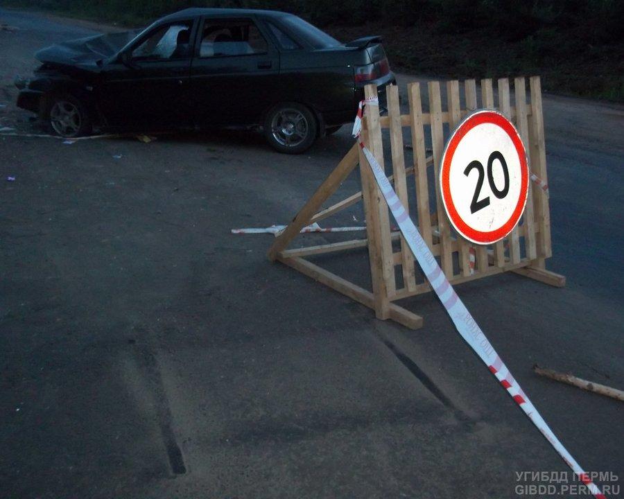 В Пермском крае в ДТП на ремонтирующейся дороге пострадала несовершеннолетняя - фото 1