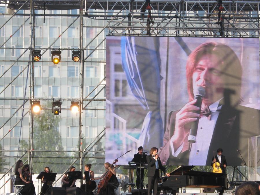 В Перми выступил Дмитрий Маликов