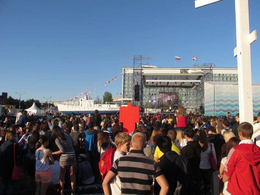 В Перми выступила группа «Каста»