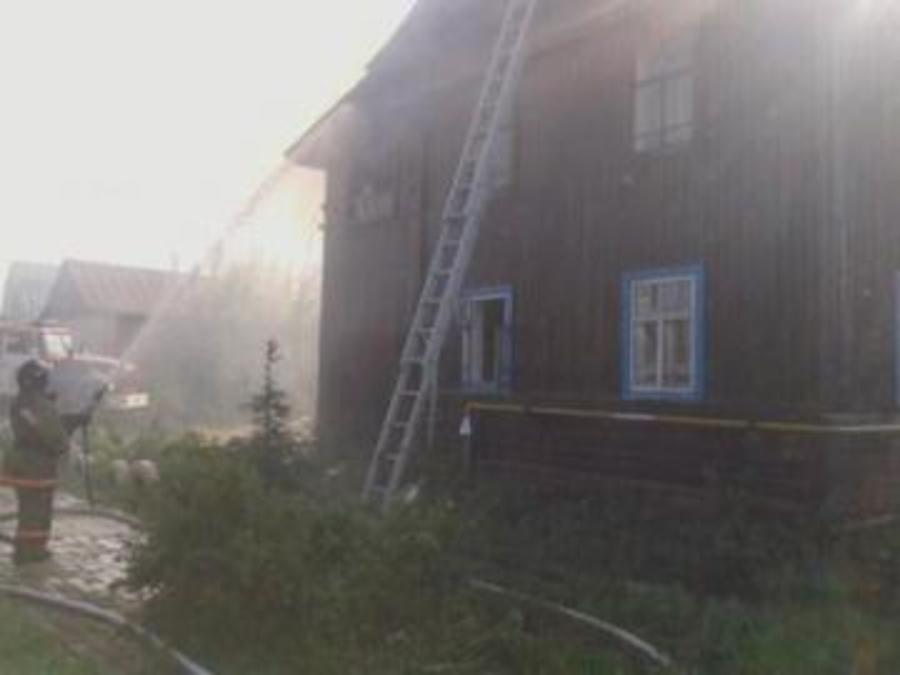 В Пермском районе произошел пожар третьего номера сложности - фото 1