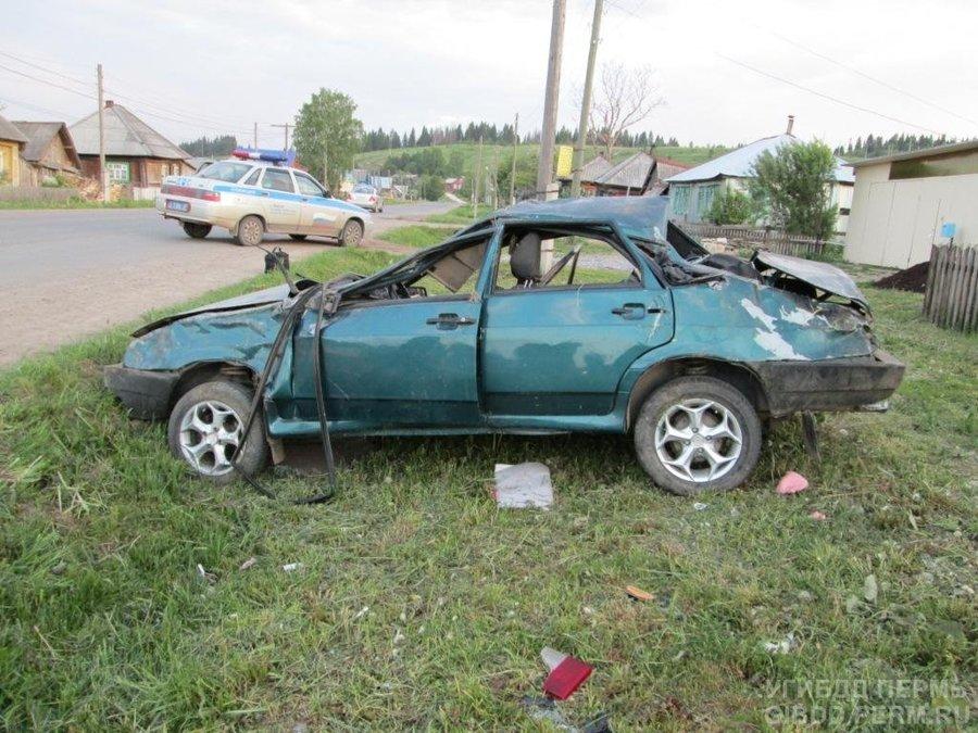 В Уинском районе в ДТП сегодня погиб человек