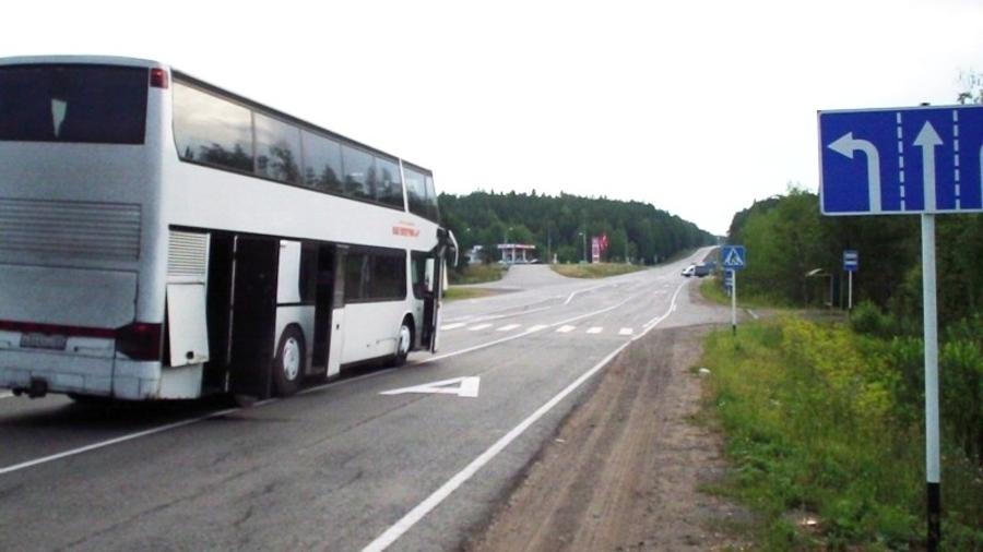 В Пермском крае рейсовый автобус сбил девушку