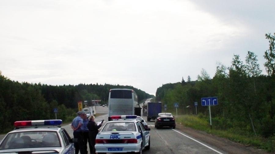 В Пермском крае рейсовый автобус сбил девушку - фото 2