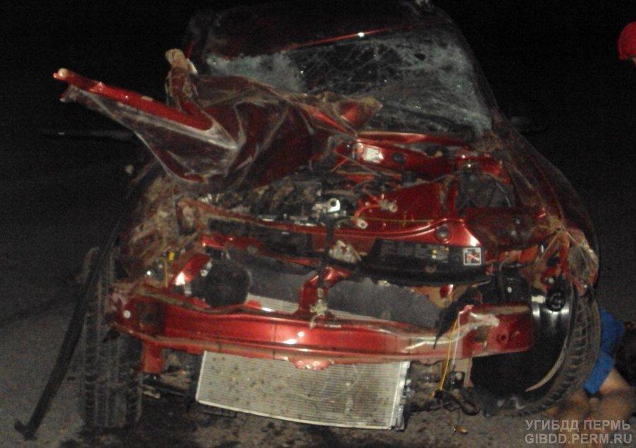 В Добрянском районе в ДТП погиб девятиклассник