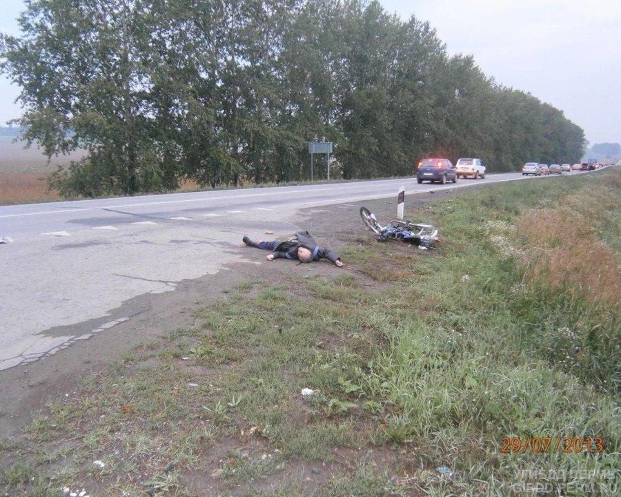 В Кунгурском районе в столкновении с Ауди погиб водитель мопеда