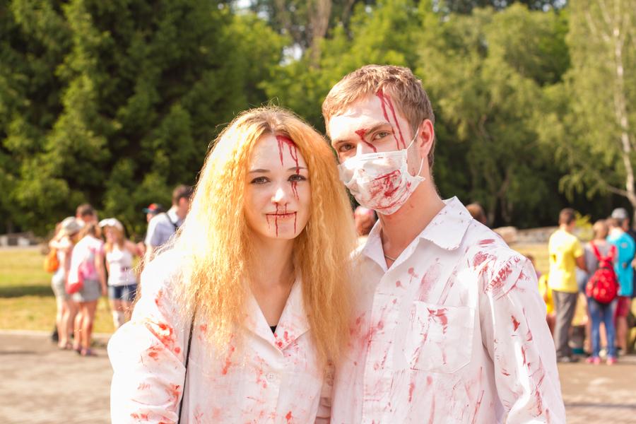 Нашествие зомби в Перми