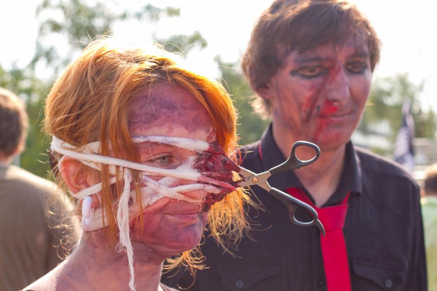 Нашествие зомби в Перми - фото 7