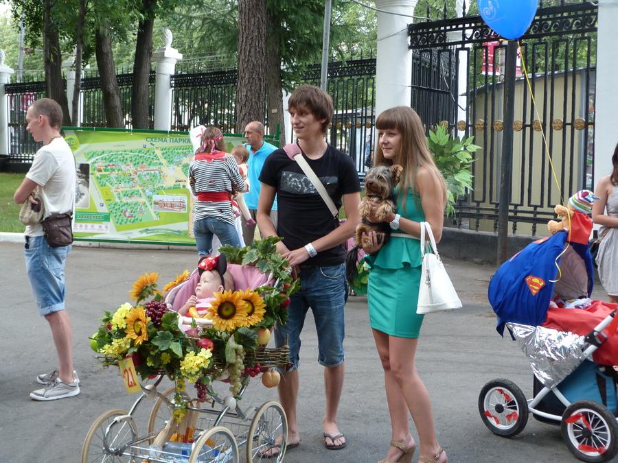 В Перми прошёл юбилейный Парад колясок