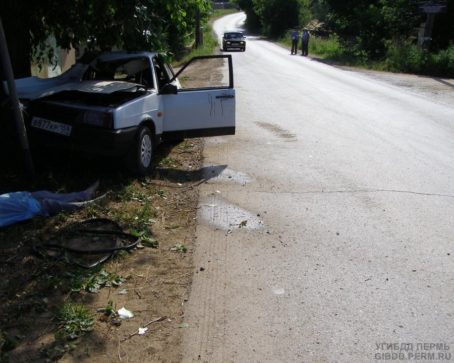 В Очерском районе 15-летняя девушка погибла по вине пьяного водителя