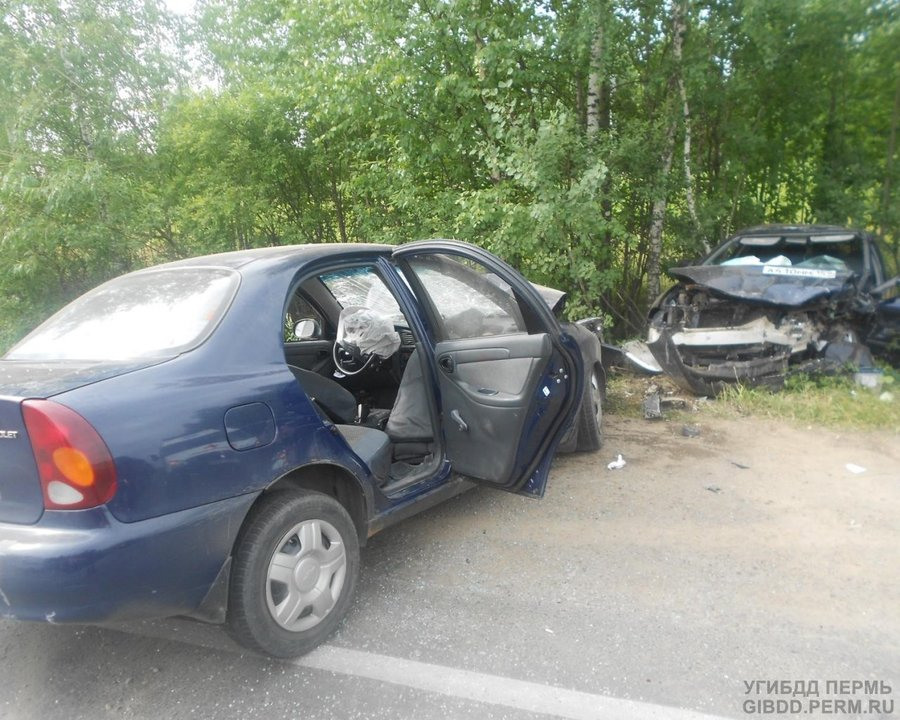 В Перми в столкновении Ланоса и Спектры пострадали пять человек