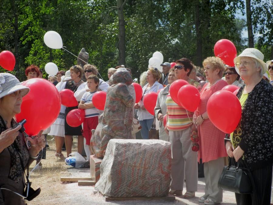 В Березниках состоялось закрытие фестиваля скульптур