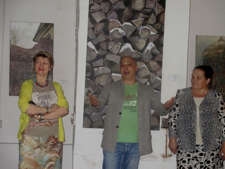 В Усолье в усадьбе князей Голицыных открылась выставка Global Art Community