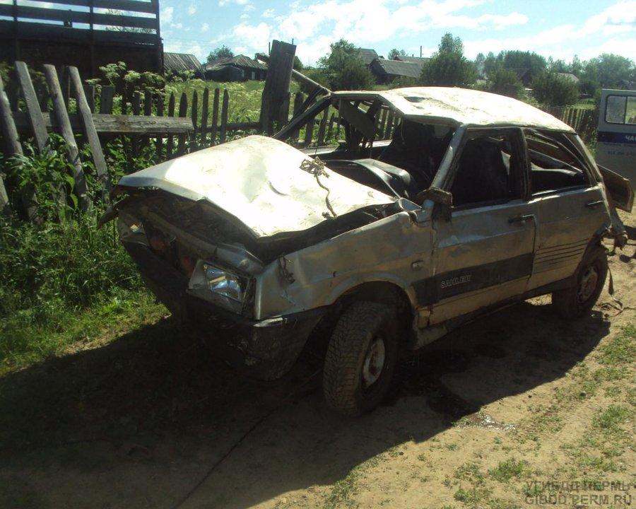 В Юрлинском районе катание подростков на автомобиле закончилась комой