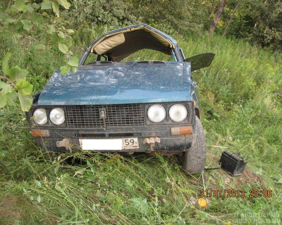 В Чернушинском районе в ДТП тяжелые травмы получили девушка и мужчина