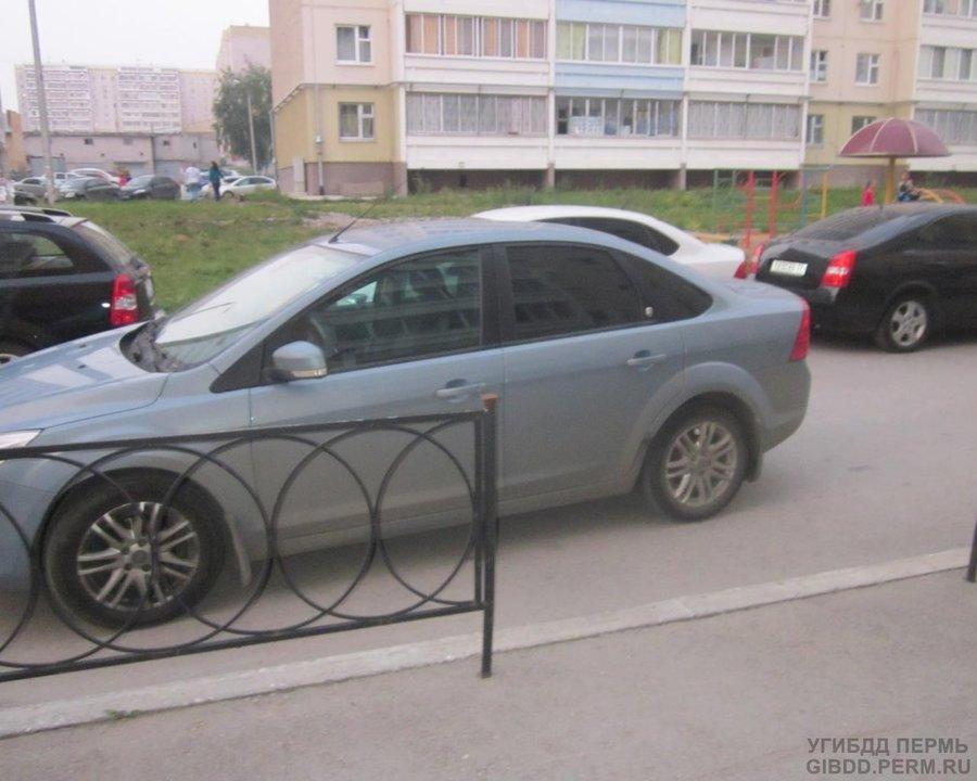 В Перми под колеса Фокуса попала 5-летняя девочка