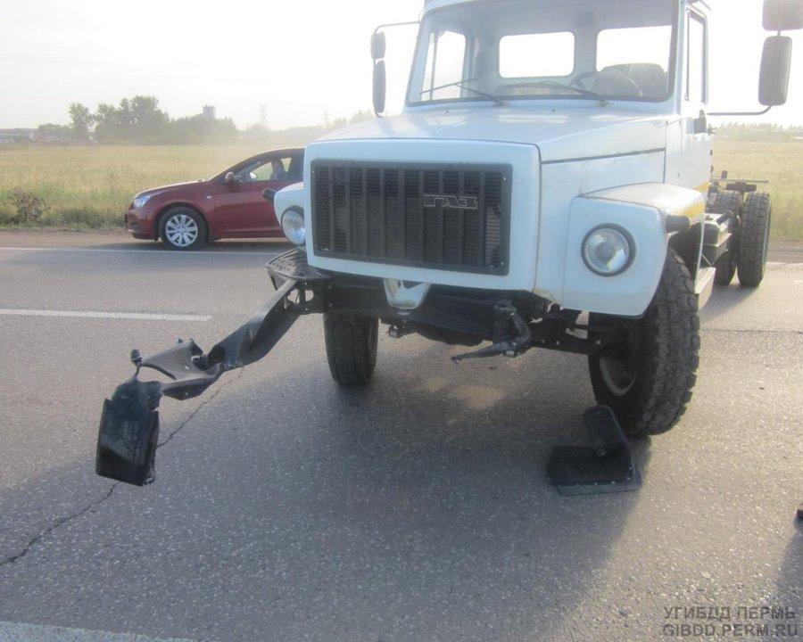 В Перми в ДТП пострадали мальчик и девочка