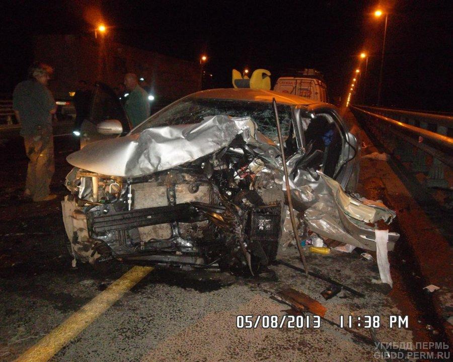 В Перми на Западном обходе погибли два водителя, женщина тяжело ранена