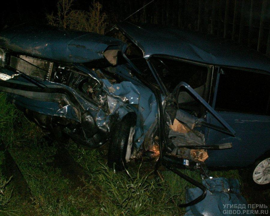 В Краснокамском районе водитель «пятерки» скончался от травм, полученных в ДТП - фото 1