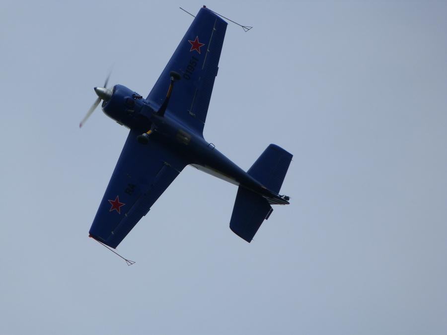 В Пермском крае состоялось авиационное шоу в честь трижды Героя