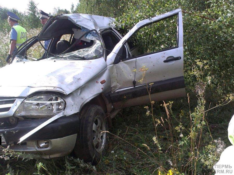 В Осинском районе погиб водитель Шевроле Нива - фото 1