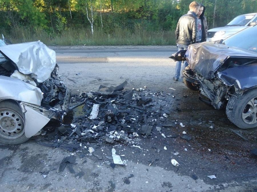 В Березниках в столкновении с Фиатом погиб водитель Калины - фото 1