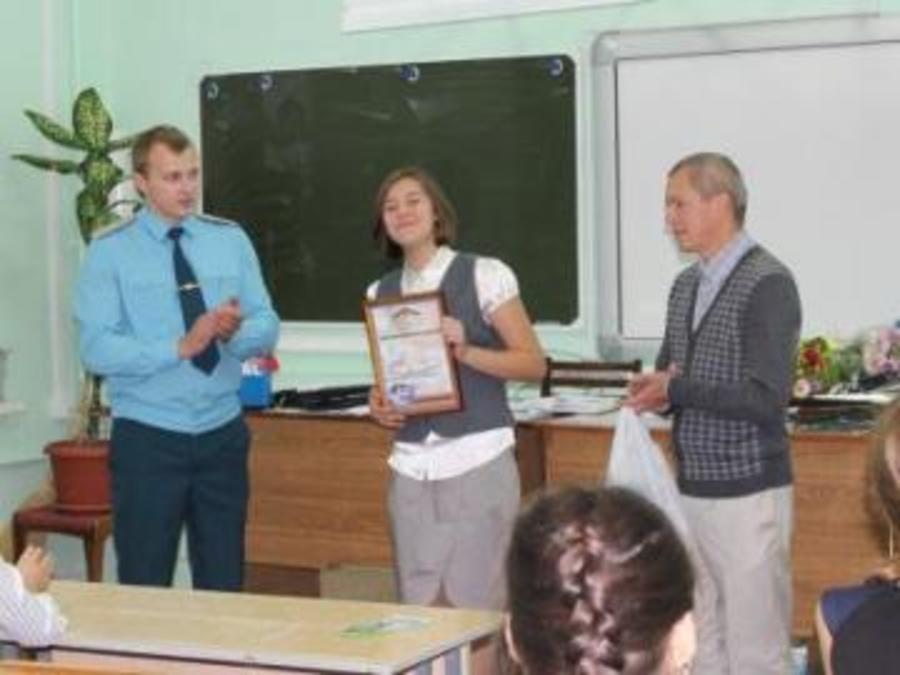 В Перми сегодня награждали смелую восьмиклассницу - фото 1