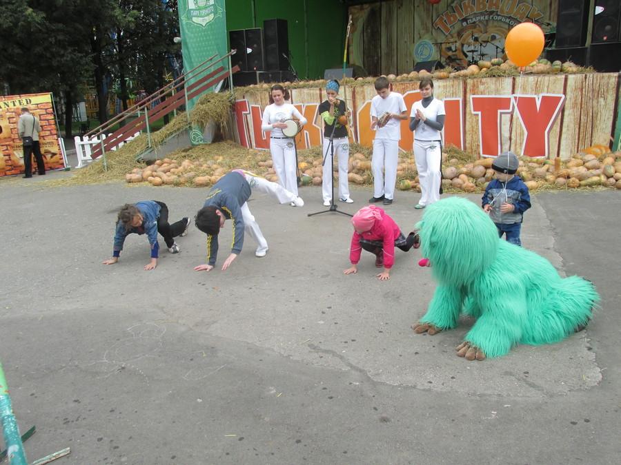 Пермские дети учились искусству капоэйра - фото 15