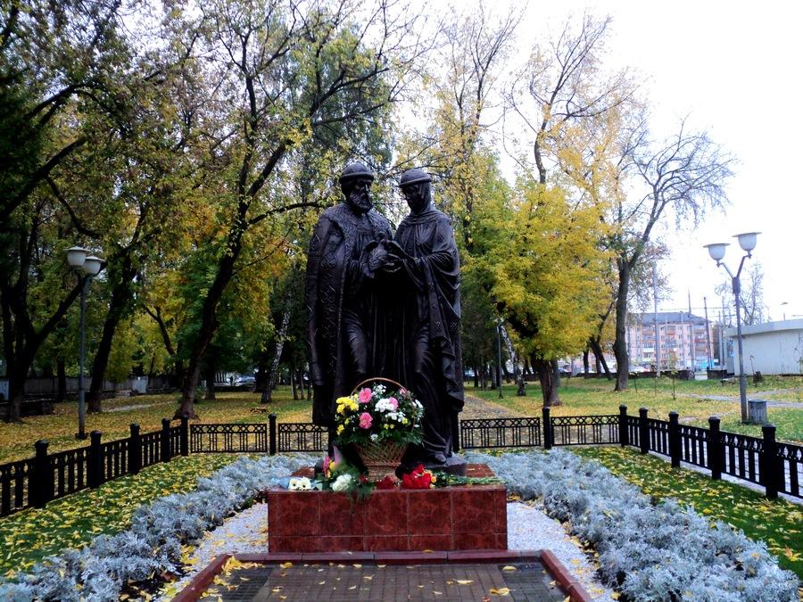 Перми даровали скульптуру православных святых