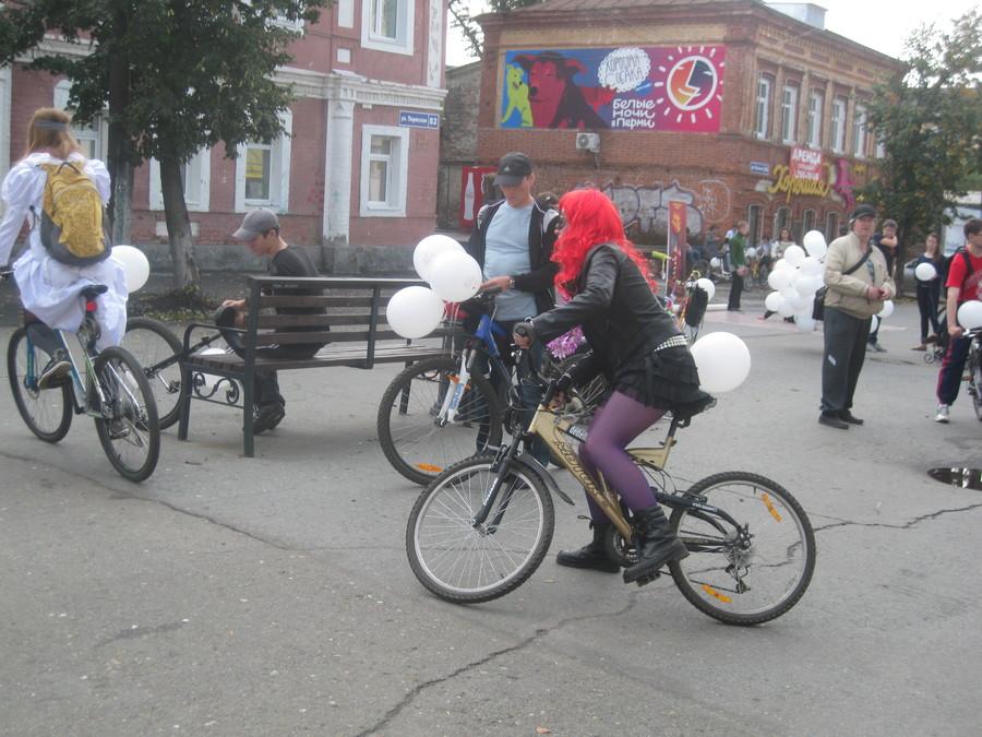 В Перми прошел праздник велосипедистов - фото 26